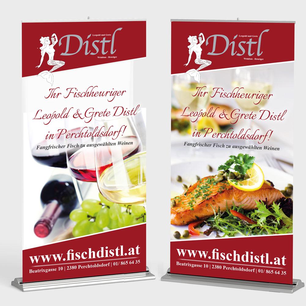 Rollup – Weinbau Distl, Perchtoldsdorf