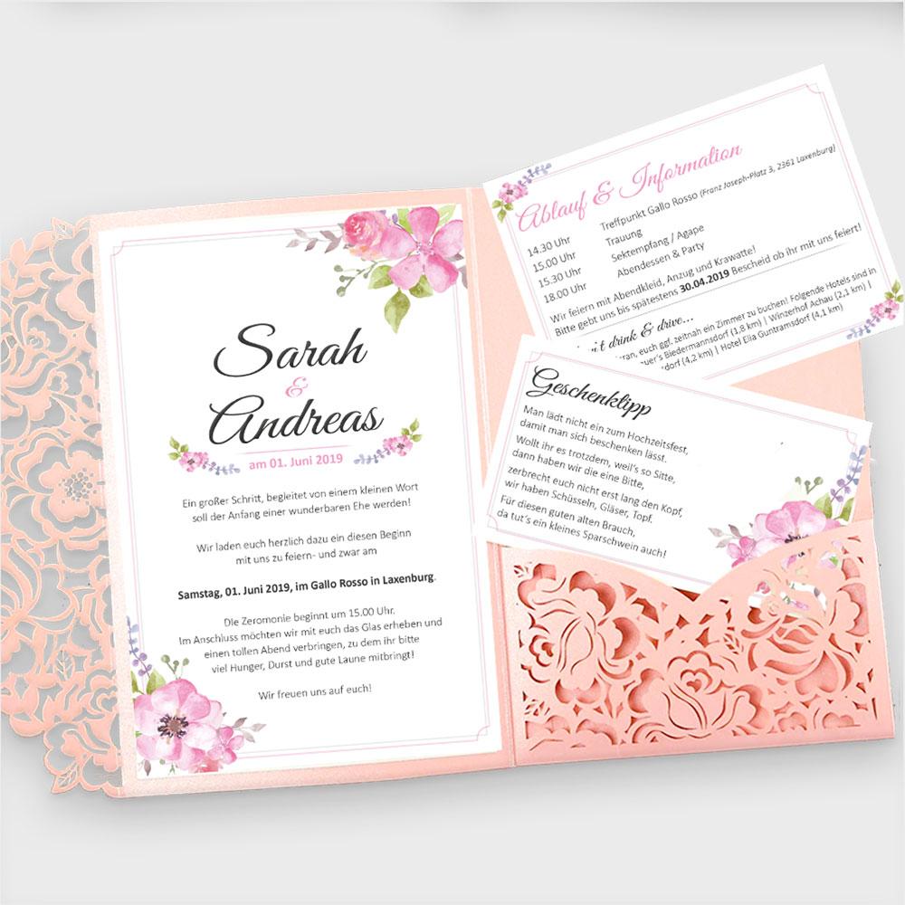 Einladungen Hochzeit – Privat
