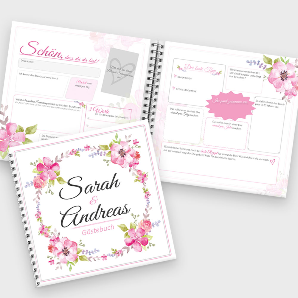 Gästebuch Hochzeit – Privat