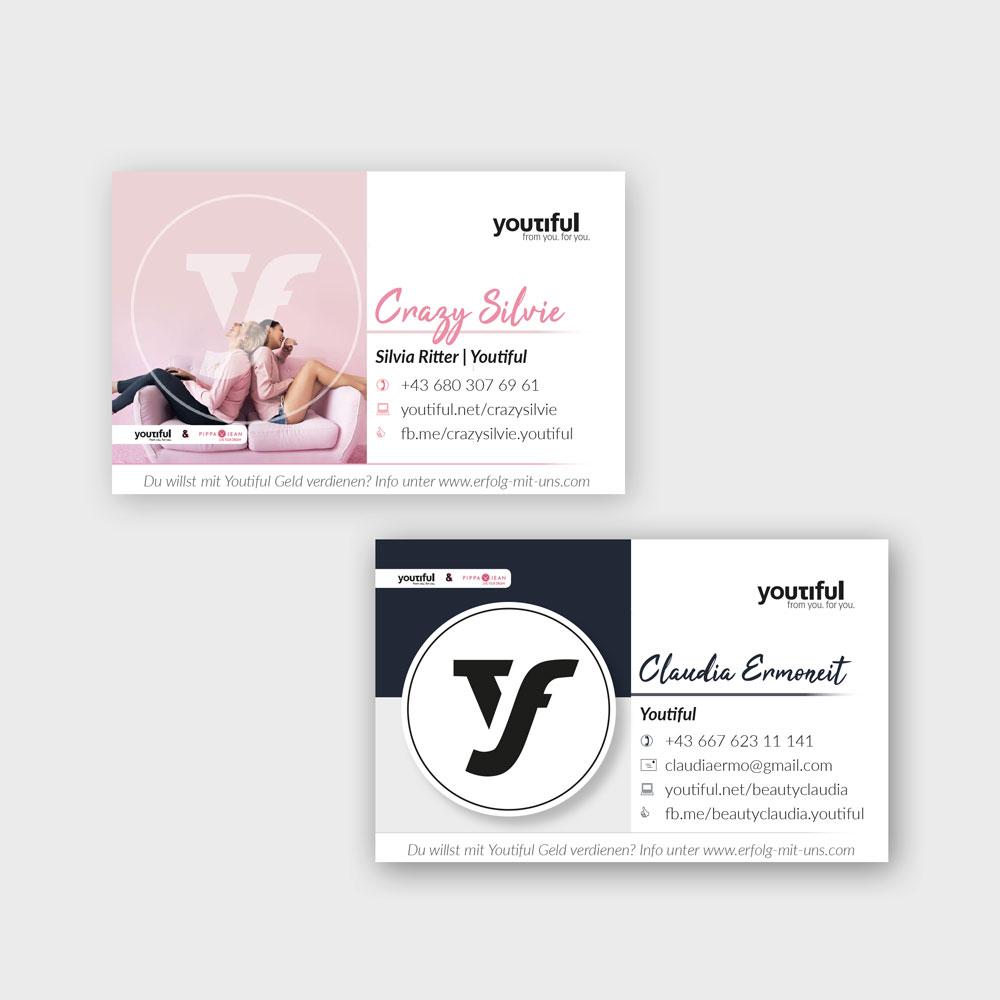 Visitenkarten – Youtiful Partner