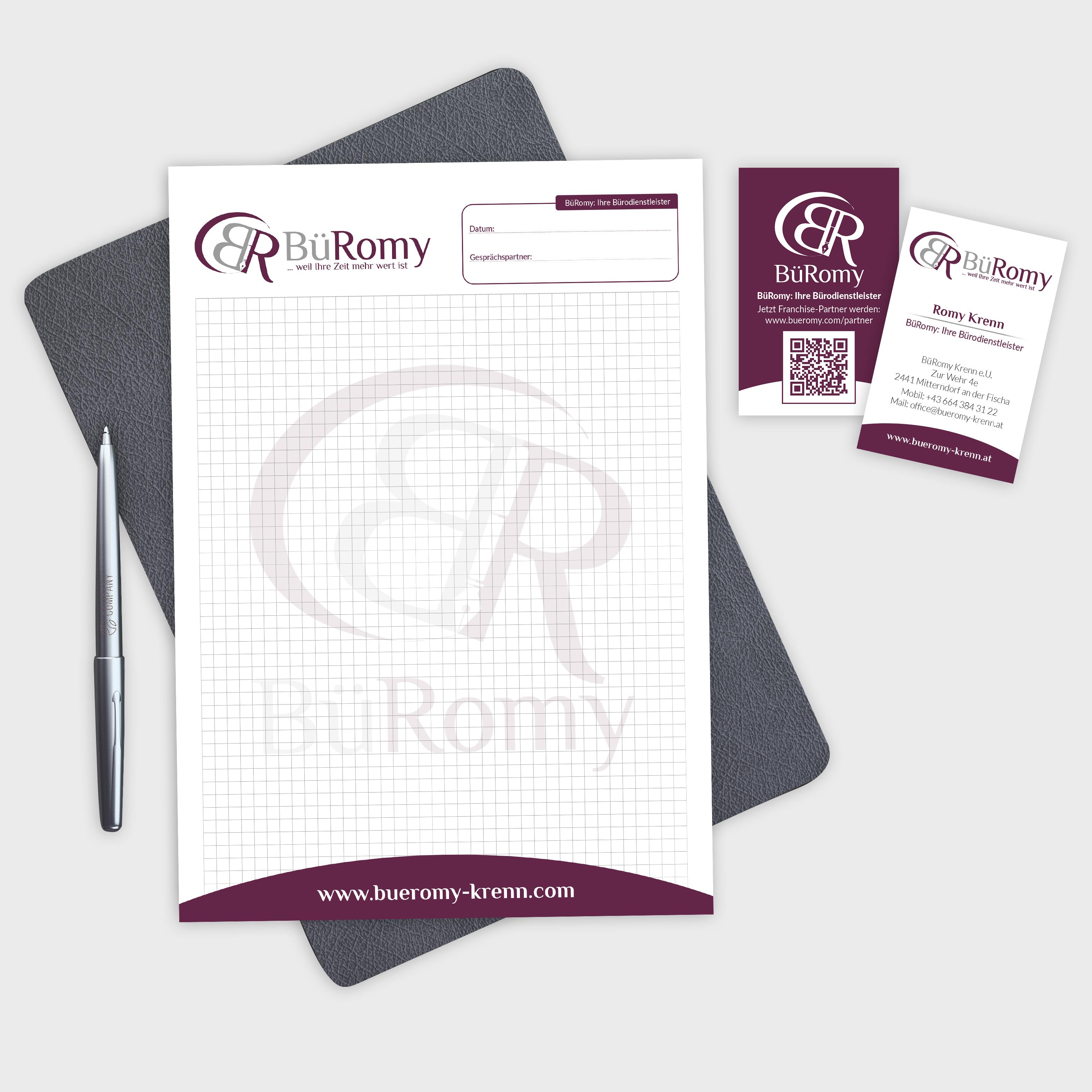 Geschäftsdrucksorten – BüRomy GmbH, Mitterndorf