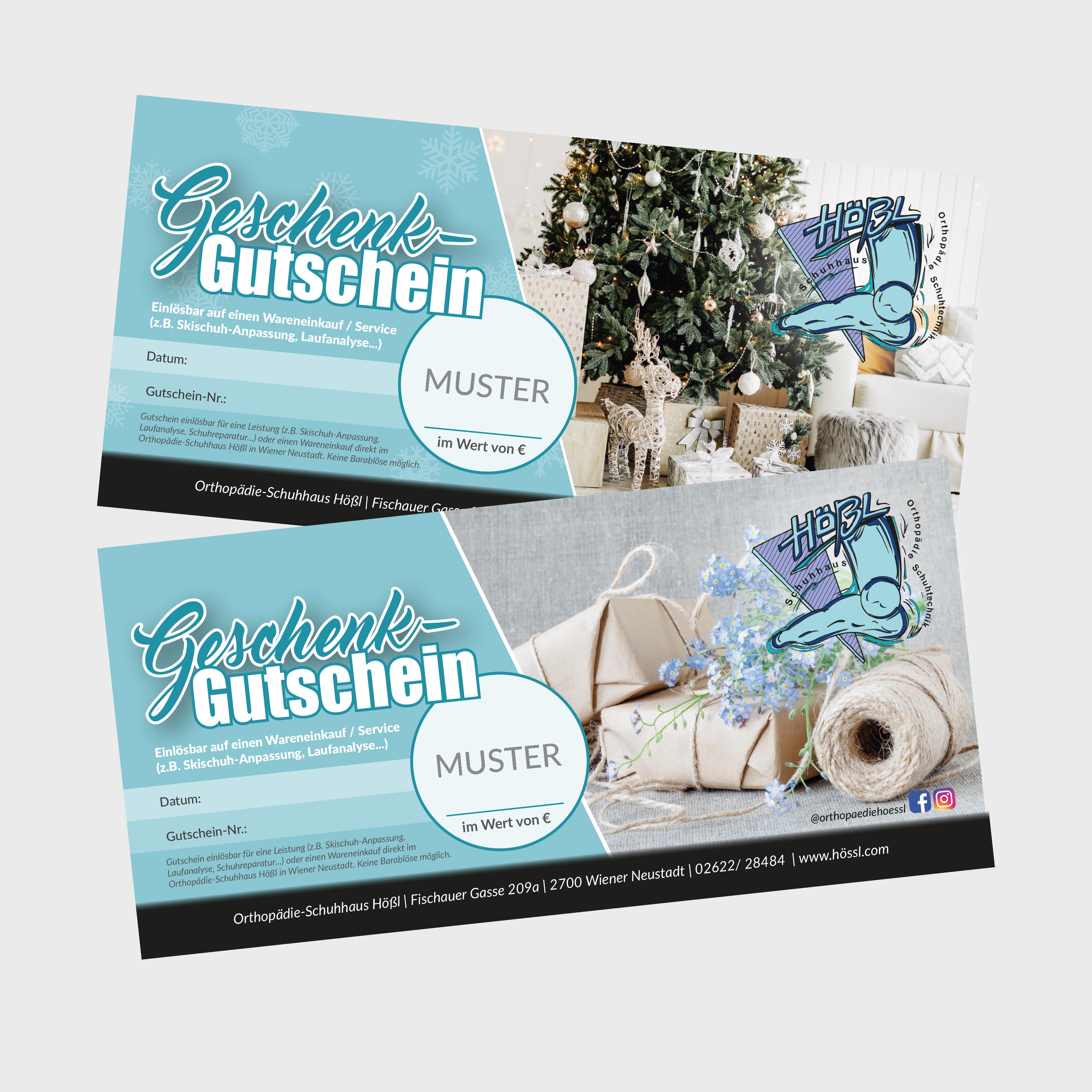 Gutscheine - Hößl GmbH, Wiener Neustadt