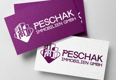 Logo Peschak Immobilien GmbH